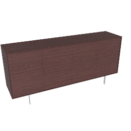 Sussex Tall Credenza With Drawers