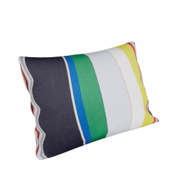 Maharam Pillow in Bold Sequential Stripes 18'' x 26''