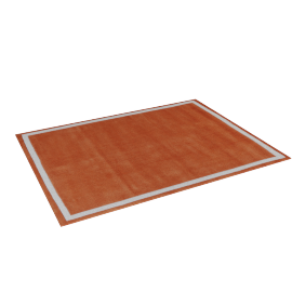 Parker Tufted Rug - 120x160 cms, Orange