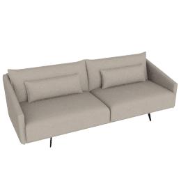 Costura Sofa, Flax, Linen Weave