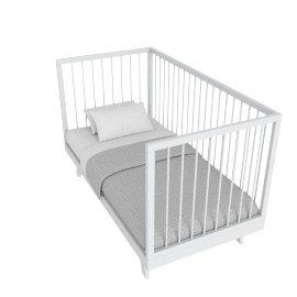 Little Cutie Nursery Cot bed 70x140