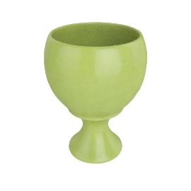 Rusa Planter Pot - 30.5x30.5x39.5 cms, Green