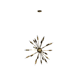 Satellite Chandelier - Bronze