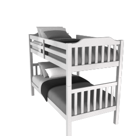 John Lewis Devon Bunkbed, Single
