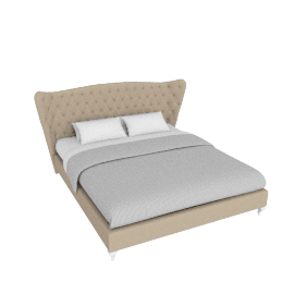 Lusso Bed -180x210 cms