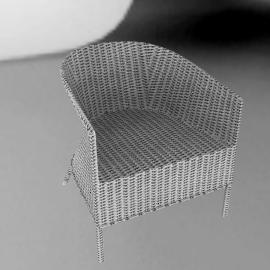 Gandhi Chair, White