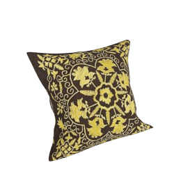Zanzibar Cushion, Yellow