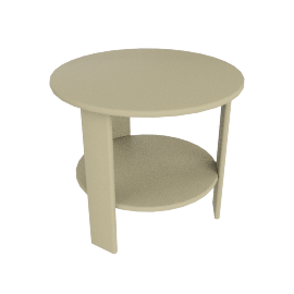 Lollygagger Side Table, Sand