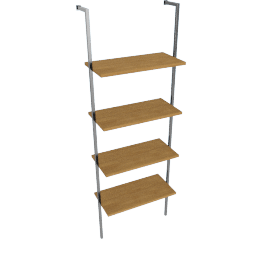 Matrix Single Wide Shelf Unit
