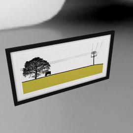 Jacky Al-Samarraie -Yeadon Framed Print, 44 x 84cm