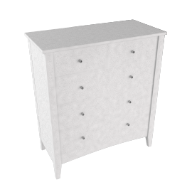 Sherbourne Chest of Drawers, White