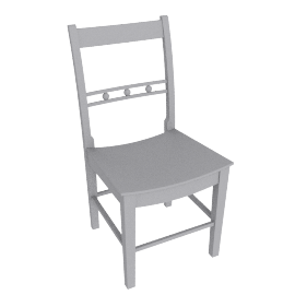 Suffolk Dining Chair, Honed Slate
