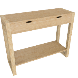 Logan Console Table with Shelf