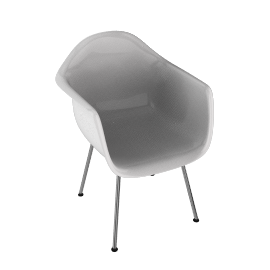 Eames® Molded Plastic Armchair - DAX