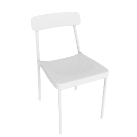 Grace Side Chair, White