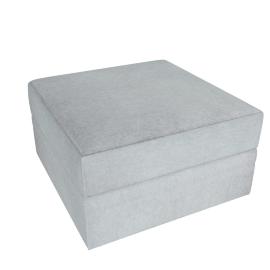 Lourini Ottoman Sofa, Grey