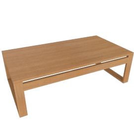 Block Island Coffee Table, Teak