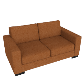 Signature Sofa Bed, Orange