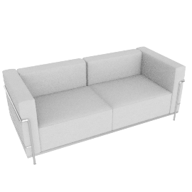 LC3 Grand Modele Two Seat Sofa