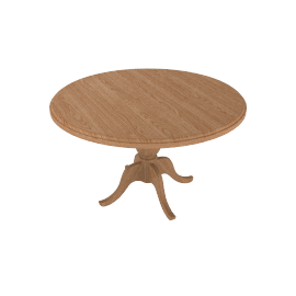 Rochelle round dining table