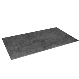 Indulgence Reversible Bath Mat - 70x120 cms, Grey