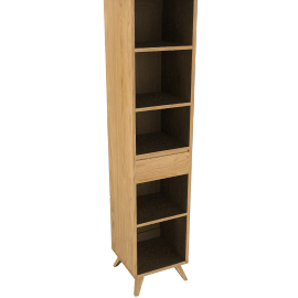 House by John Lewis Stride Narrow Bookcase
