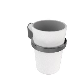 Container Glass and Holder