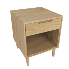 Raleigh Bedside Table, Oak