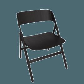 Narin Folding Chair, Black