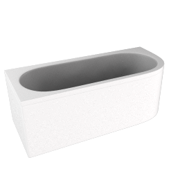 Status Double Ended Bath, right