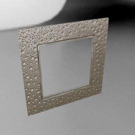 John Lewis Lunar Square Mirror, 60 x 60cm