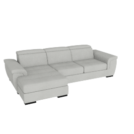 Raymond Left Corner Sofa, Grey