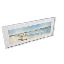 Anthony Waller - On The Beach Framed Print, 40.5 x 99cm