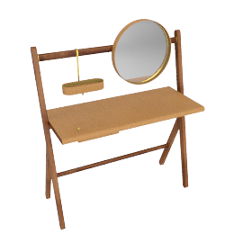 Ren - Dressing table, Cammello