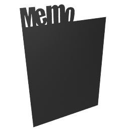 Memo Chalkboard Wall Sticker