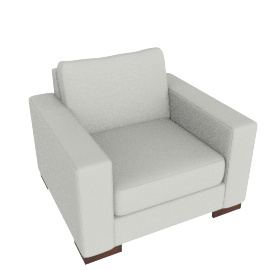 Signature Armchair, Dove