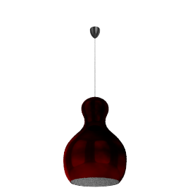 Lightyears Calabash P3, red chrome