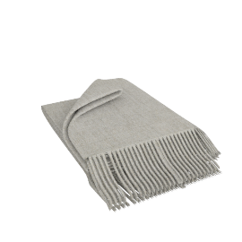 Premium Cashmere Throw, Oyster