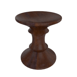 Eames® Walnut Stool - A