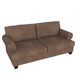 Brooke 3-seater Sofa, Brown