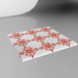 Snowflake Napkin, Red