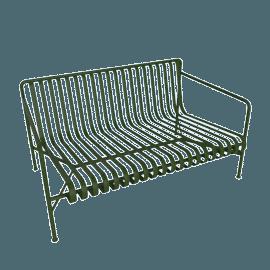 Palissade Dining Bench, Olive