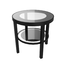 VERUS END TABLE, BLK