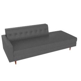 Bantam Studio Sofa, Left - Vienna Leather.Slate
