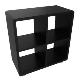Mini Malibu Bookcase, Black