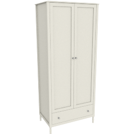 Alice 2 Drawer Wardrobe