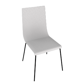 Lily Chair, White