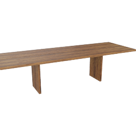 Gather Table 116'', Walnut
