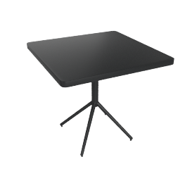 Grace Folding Table, Black