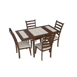 Selene 4-Seater Dining Set